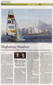 Hamburger Abendblatt 12. August 2016