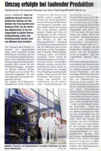 8. November 2006 Allgemeine Fleischerzeitung