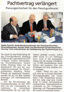14. Juni 2007 Hamburger Abendblatt
