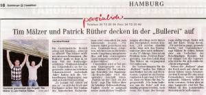 9. Mai 2008 Hamburger Abendblatt