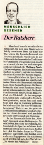 14. August 2010 Hamburger Abendblatt