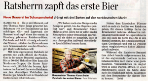 Hamburger Abendblatt 12. April 2012